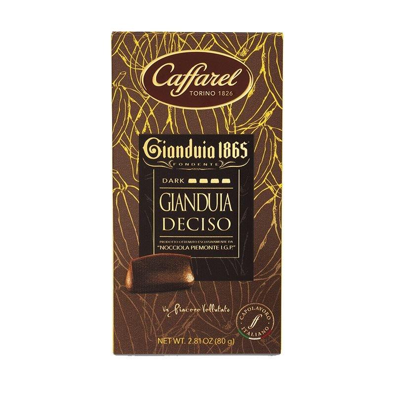 Caffarel Tavoletta di Cioccolato Fondente Gianduia Deciso  - Castroni Via Catania