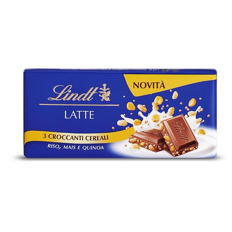 Tavoletta Classica al Latte con Cereali Lindt - Castroni Via Catania - Roma