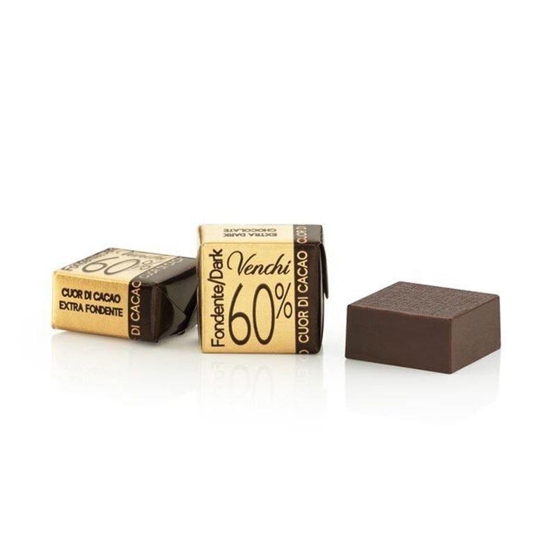 Cioccolatino Cubotto Puro Fondente 60% - Venchi - Castroni Via Catania