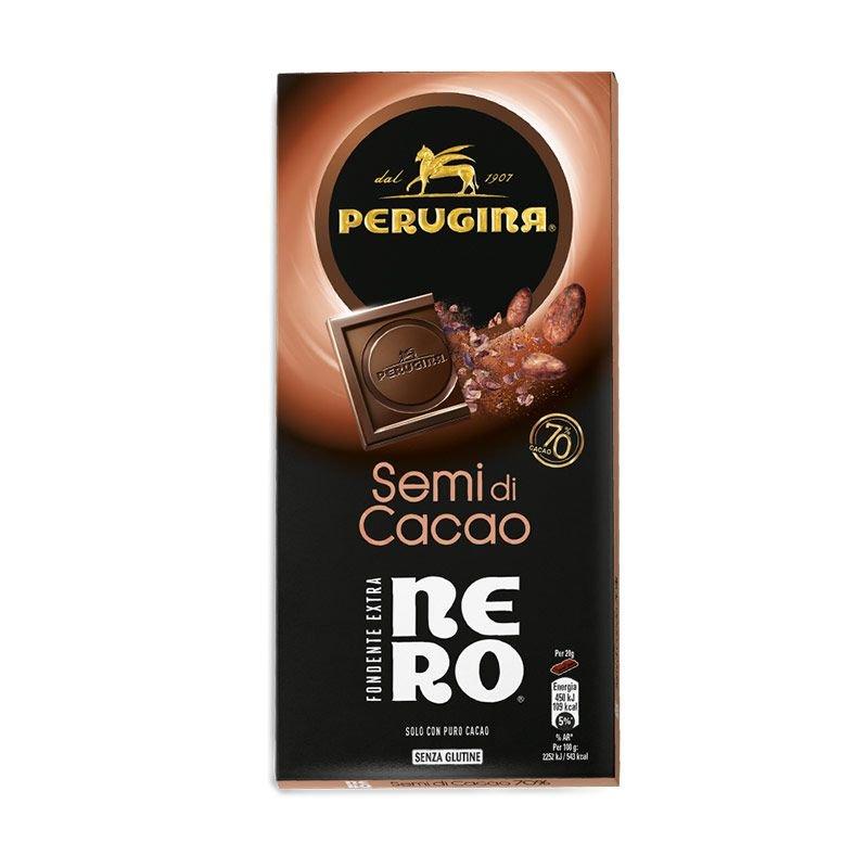 Tavoletta Nero Fondente Semi di Cacao - Perugina - Castroni Via Catania Roma