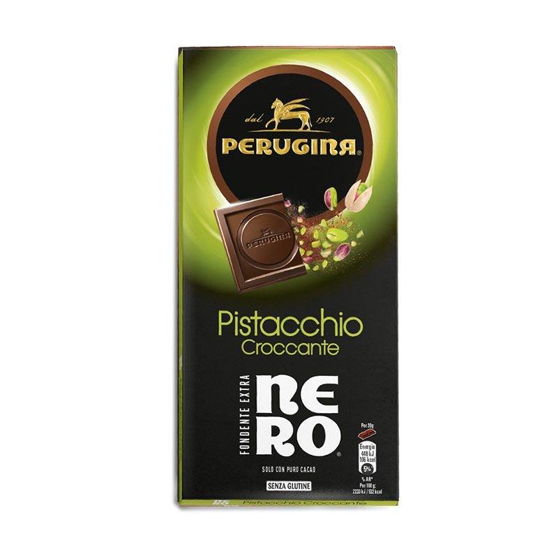 Tavoletta Nero Fondente con Pistacchio - Perugina - Castroni Via Catania