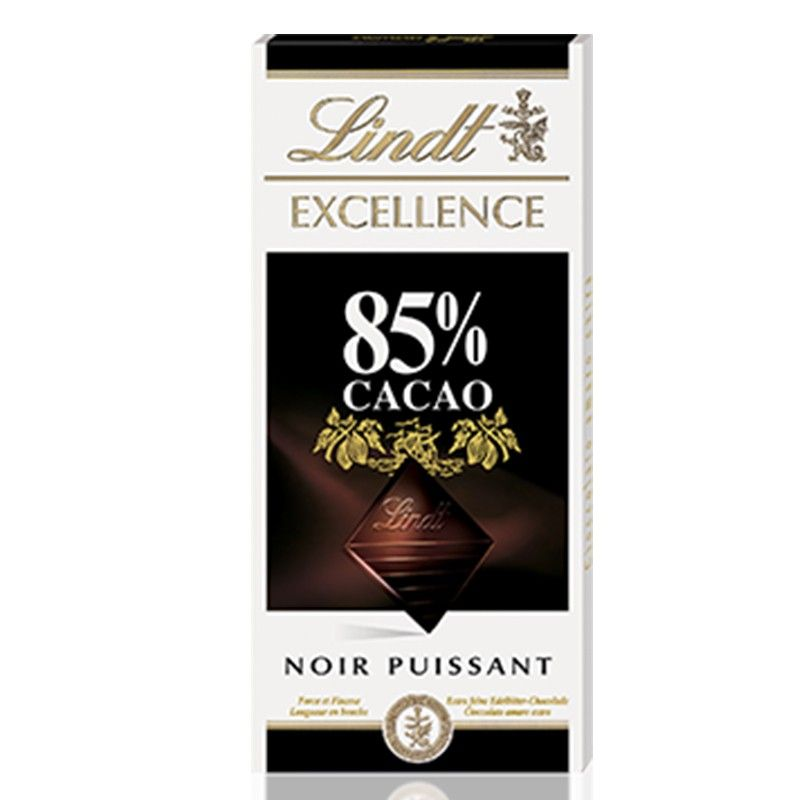 Tavoletta Lindt Excellence di Cioccolato Fondente 85% - Castroni Via Catania Roma
