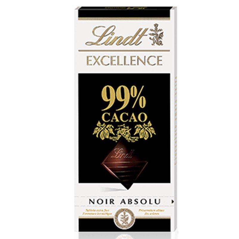 Tavoletta Lindt Excellence di Cioccolato Fondente al 99% - Castroni Via Catania