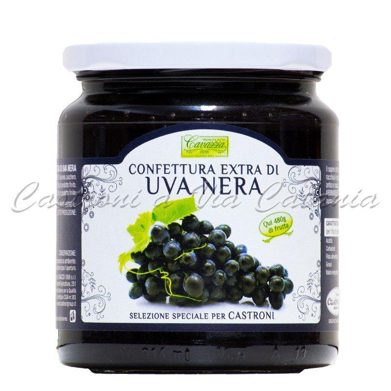 Confettura Extra di Uva Nera Cavazza - Selezione Speciale Castroni