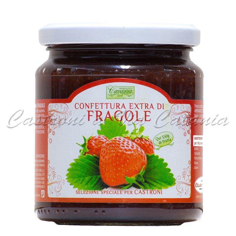 Confettura Extra di Fragole Cavazza - Selezione speciale per Castroni