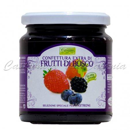 Confettura Extra di Frutti di Bosco Cavazza - Selezione Castroni