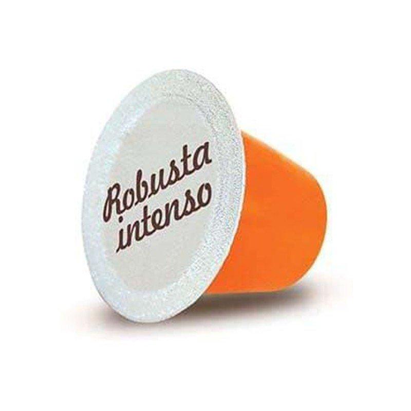 Caffè miscela robusta intenso capsule compatibili nespresso castroni a via catania