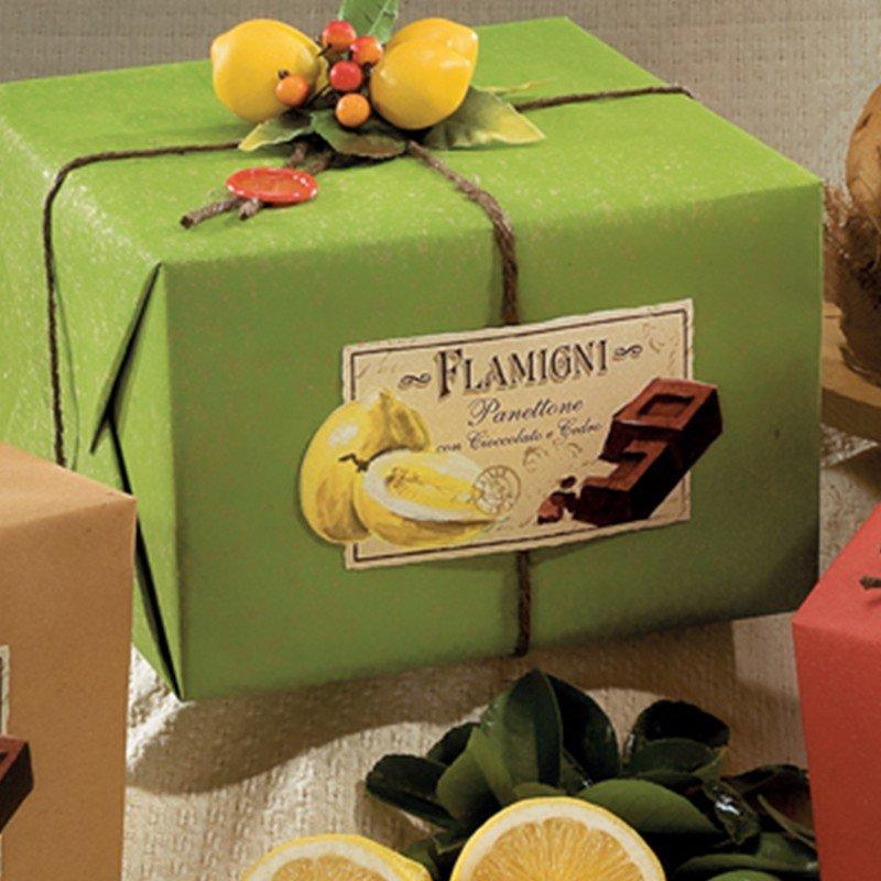 Panettone Flamigni Cedro & Cioccolato - Natale - Castroni