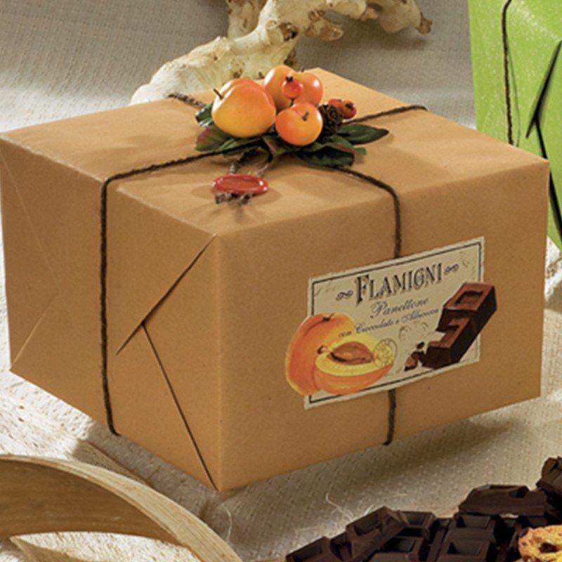 Panettone Flamigni Albicocca & Cioccolato - Torrefazione Castroni Roma