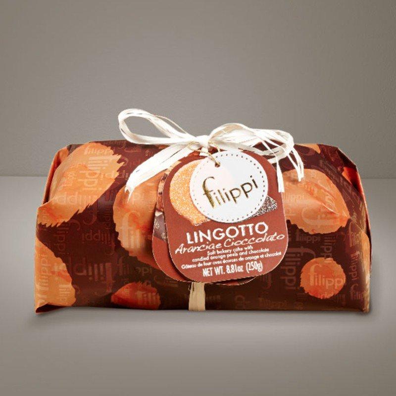 Lingotto Filippi con arancia candita e gocce di cioccolato - Castroni Roma